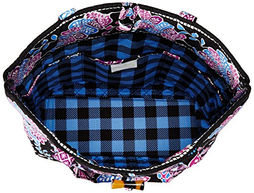 Vera Vera Tote Bradley Blue Bradley Floral Shoulder Alpine Unisex Handbag 4ROS5Rnq