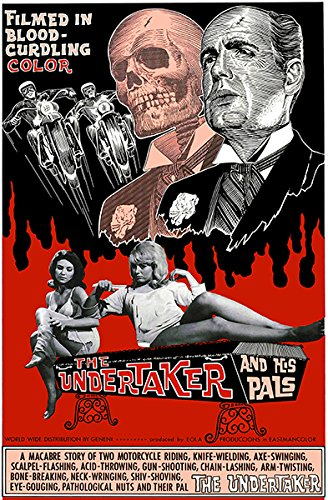 The Undertaker And His Pals - 1966 - Movie Poster