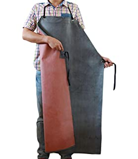 Nanxson Mens Multi Fuction Oil Resistance Thick Rubber Waterproof Working Apron