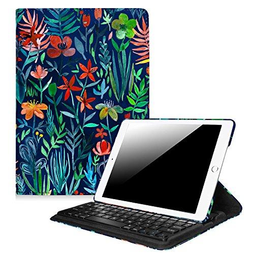 Fintie iPad 9.7 inch 2018 2017 / iPad Air 2 / iPad Air Keyboard Case - 360 Degree Rotating Stand Cover Built-in Wireless Bluetooth Keyboard for Apple iPad 9.7