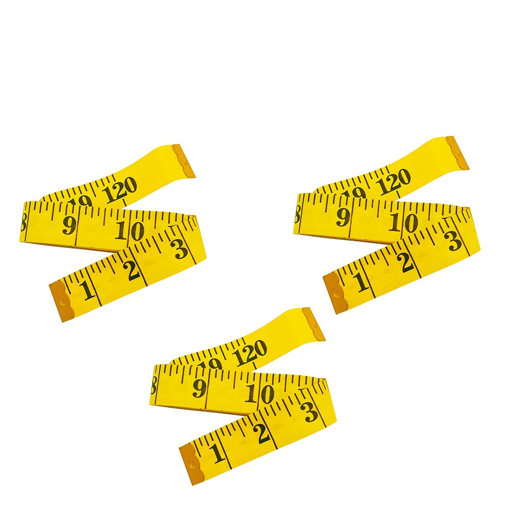 2 Pack 120-Inch Extra Long Soft Tape Measure for Sewing Tailor Cloth Ruler
