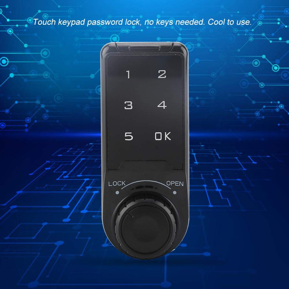 Garosa Electronic Cabinet Lock Touch Keypad Password Access Lock Digital Security Cabinet Coded Locker for Access Control System #1