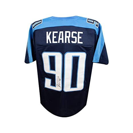Image Unavailable. Image not available for. Color  Jevon Kearse Autographed  Tennessee Titans ... 9ad151baf