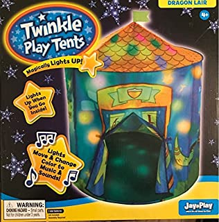 Twinkle Play Tents Dragon Lair  sc 1 st  Amazon.com & Amazon.com: Little Tikes: Carnival Tent Play Center: Toys u0026 Games