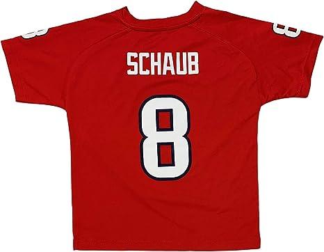 Amazon.com: Matt Schaub Houston Texans #8 Red Performance Fashion ...