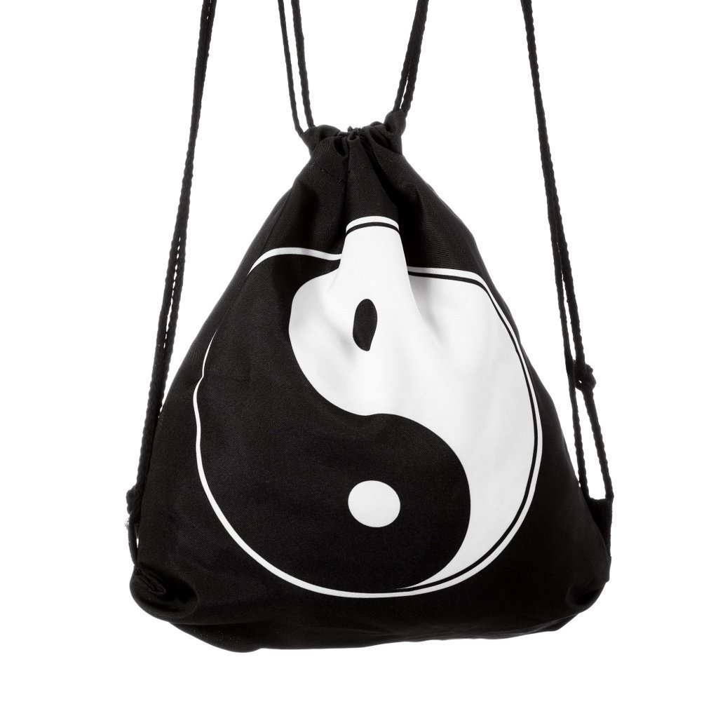 Lady Donovan - Bag Stringbag Kordel Gym Tasche Tüte Jutebeutel Turnbeutel Polyester