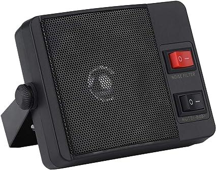 Amazon.com: fosa CB Radios External Speaker, Mini Walkie Talkie