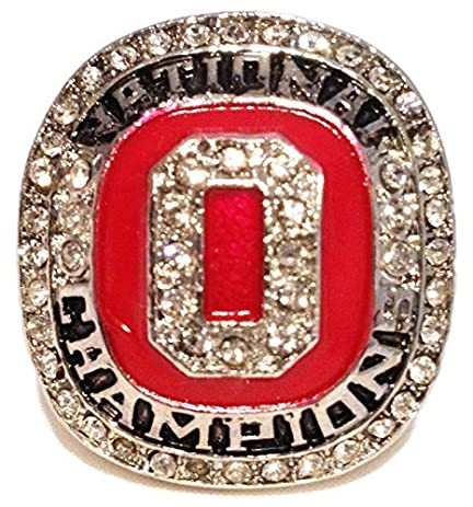 feda19334 ... Limited Jersey Ohio State Buckeyes 2014 National Championship Ring  Replica - Ezekiel Elliott - College Football Sports Memorabilia ...