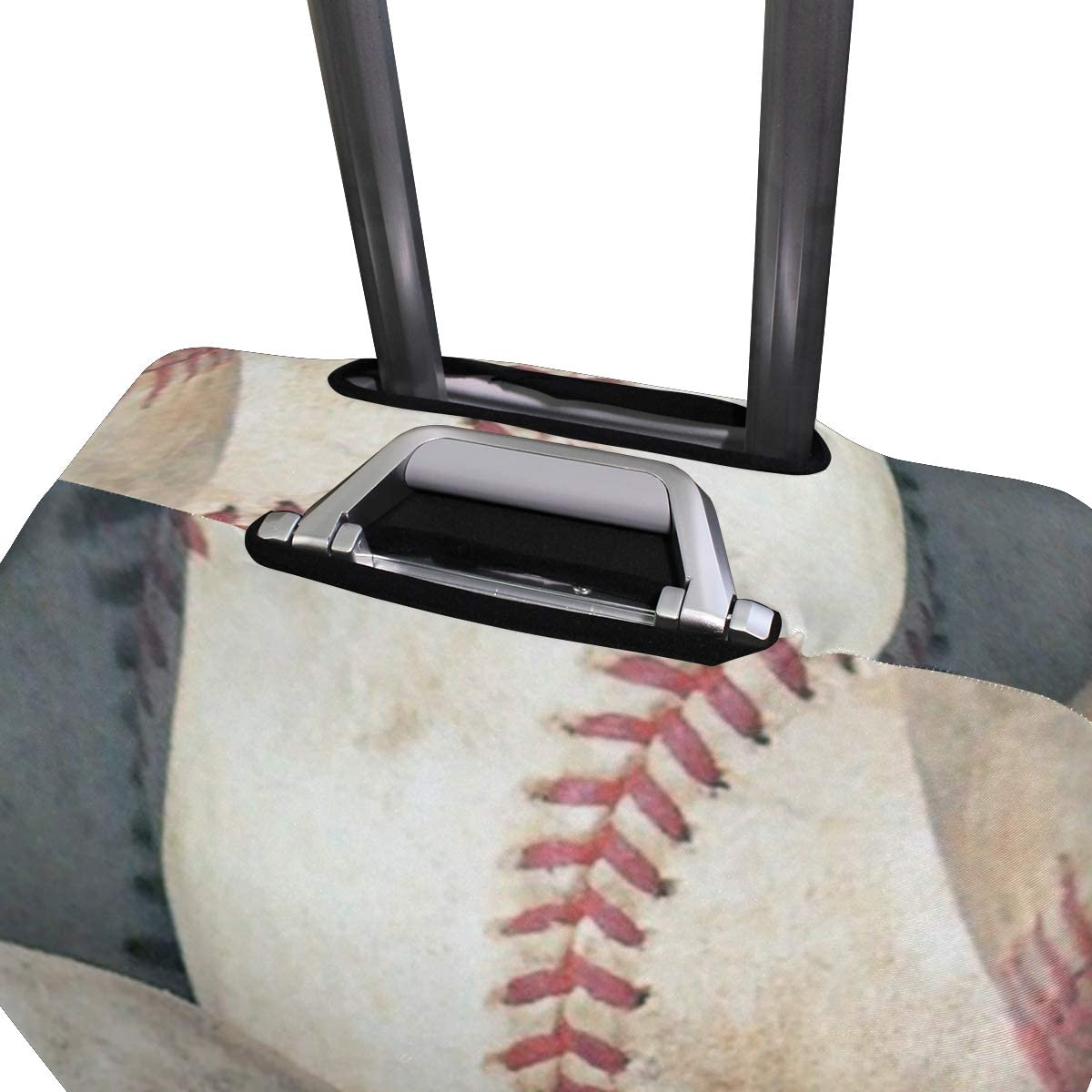 3D Baseball Print Luggage Protector Travel Luggage Cover Trolley Case Protective Cover Fits 18-32 Inch