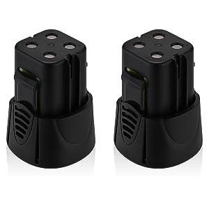 Powerextra 4.8-Volt MiniMite Battery Compatible with Dremel 755-01 MiniMite Dremel 7300 Battery 2 Pack