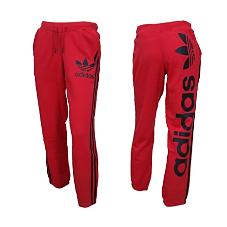 ADIDAS pant linear TP men red black (art. F47608) pantaloni tuta felpati b4f880c7d5cc