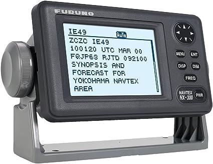 FURUNO NX-300 PAPERLESS NAVTEX RECEIVER 8-LINE 4.5