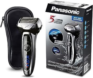 Panasonic ES-LV65-S803 Premium Wet & Dry - Afeitadora Eléctrica para Hombre/Máquina de Afeitar de Láminas para Barba Recargable e Inalámbrica Fabricada en Japón (Motor Lineal, Wet&Dry, 5 Cuchillas): Amazon.es: Salud y cuidado