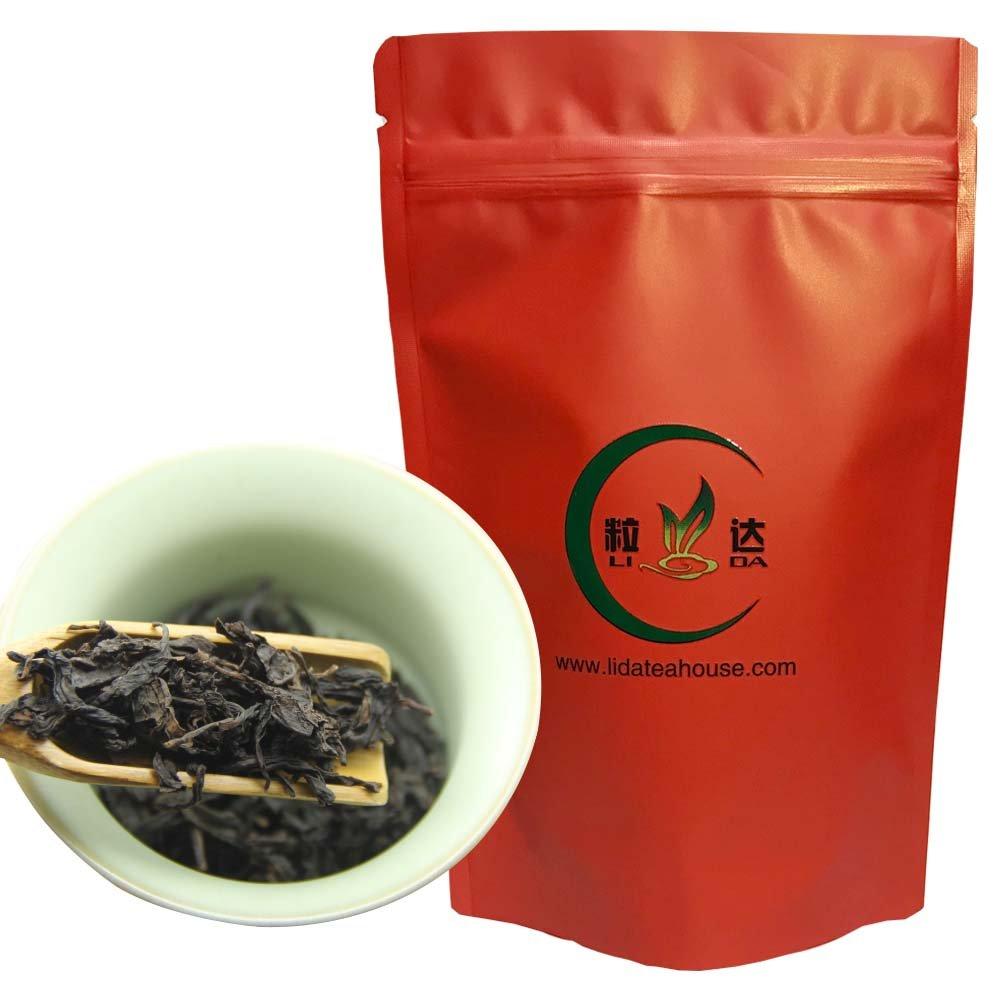 500g/17.6oz- Da Hong Pao Oolong Tea - Fresh Fujian Oolong tea - Big Red Robe Tea - Oolong Tea Loose Leaf - Wuyi Rock Tea Chinese Oolong Tea - Good for Health Slimming and Weight Loss