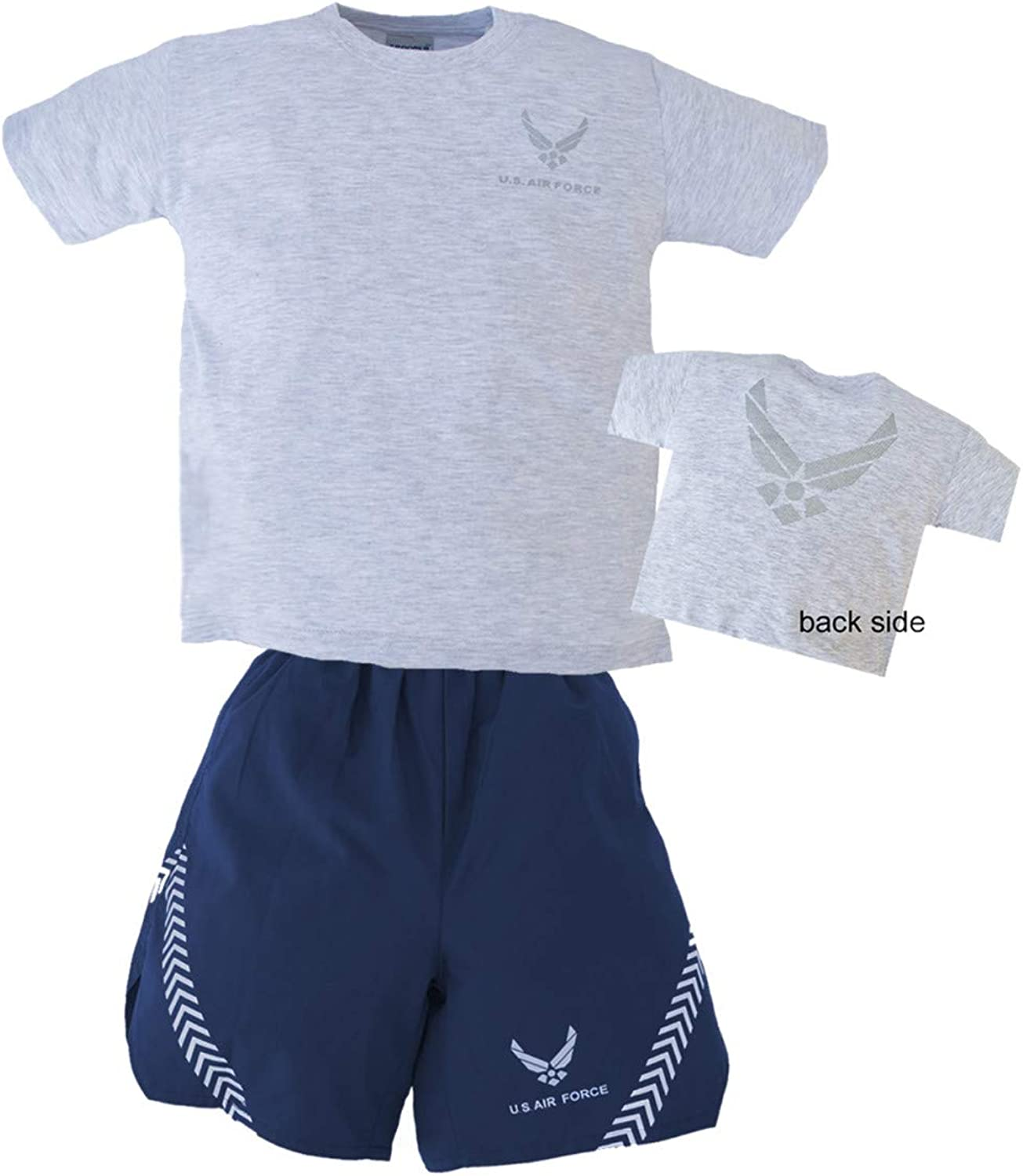 grey t shirt with shorts