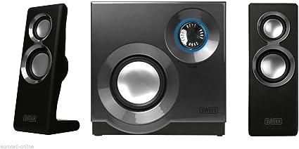 Eurosell – Designer Sistema de Sonido – Sistema de Altavoces 2.1 ...