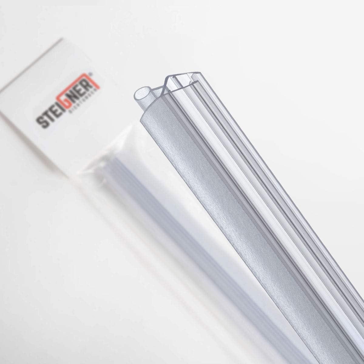 STEIGNER 90cm Joint de douche arrondi courb/é pour les vitres d/'une /épaisseur 3,5 mm// 4 mm// 5 mm UK18 Joint de remplacement