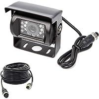 Yasoca 4 Pin Backup Camera Heavy Duty IR Night Vision Waterproof for Trucks Car Vehicle Trailer Truck Van Tow rv…