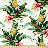 Tommy Bahama Indoor/Outdoor Beach Bounty Lush Green Fabric By The Yard
