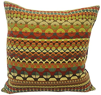 Newport Layton Home Fashions Modular Knife Edge Polyester Filled Pillow  Inch Carnival