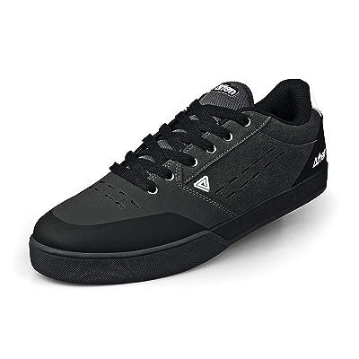 AFTON Keegan Cycling Shoe - Men's Grey, 11.0: Sports & Outdoors