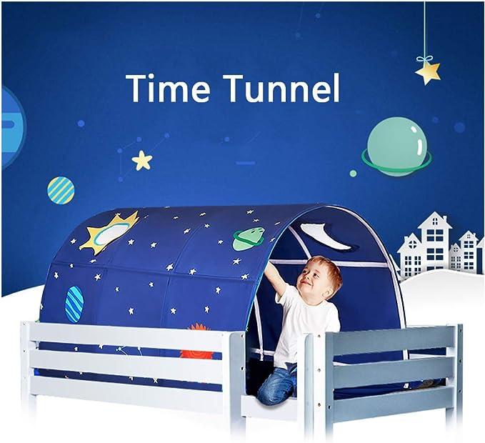 kein anderes Zubeh/ör Spielzelt Kinder Tunnel Bettzelt,Junge M/ädchen Kriechen Tunnel Nur das Zelt Kinder Tunnel F/ür Hochbett Spielbett Etagenbett F/ür Kleinkinder
