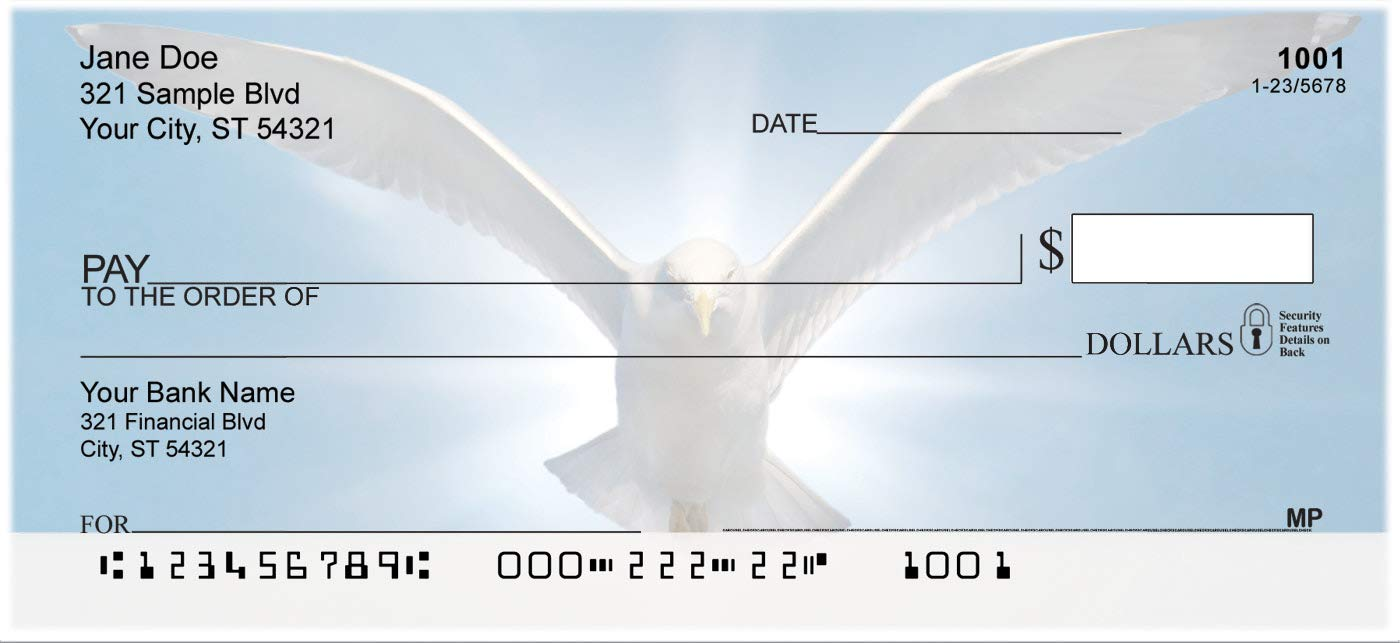 Serenity Top Tear Personal Checks Extra Value Checks