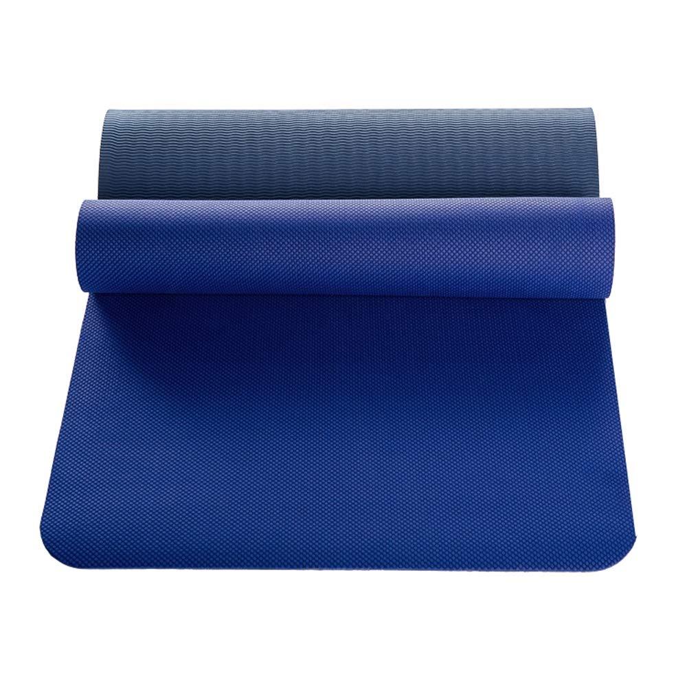 DS Dong Yogamatte - Professionelle Yoga Matte Anfänger 6mm Ausbildung Rutschfeste TPE Fitness Matte Multifunktions Sportmatte [Fünf Farben] @