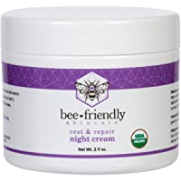 Best Night Cream Natural USDA Certified Organic Night Cream By BeeFriendly, Anti...
