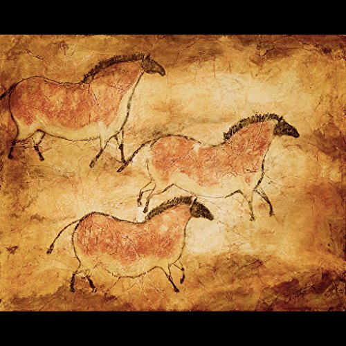 Trio--Cave Horses Pinrt (Gallery Horse Spirit)