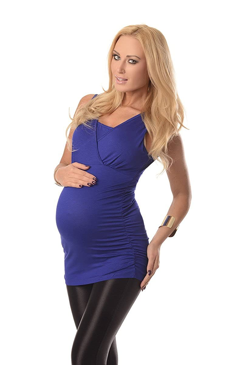 Purpless Maternity Pregnancy Nursing Sleeveless Breastfeeding Woman Top Blouse 7005