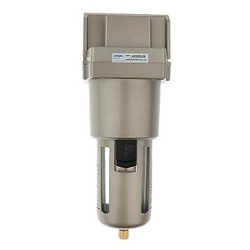MagiDeal Filtro de Aire Particulado Compresor Agua Purificador de Trampa de Humedad Herramientas - Plata- Af5000-06 3/4 filtro: Amazon.es: Bricolaje y ...