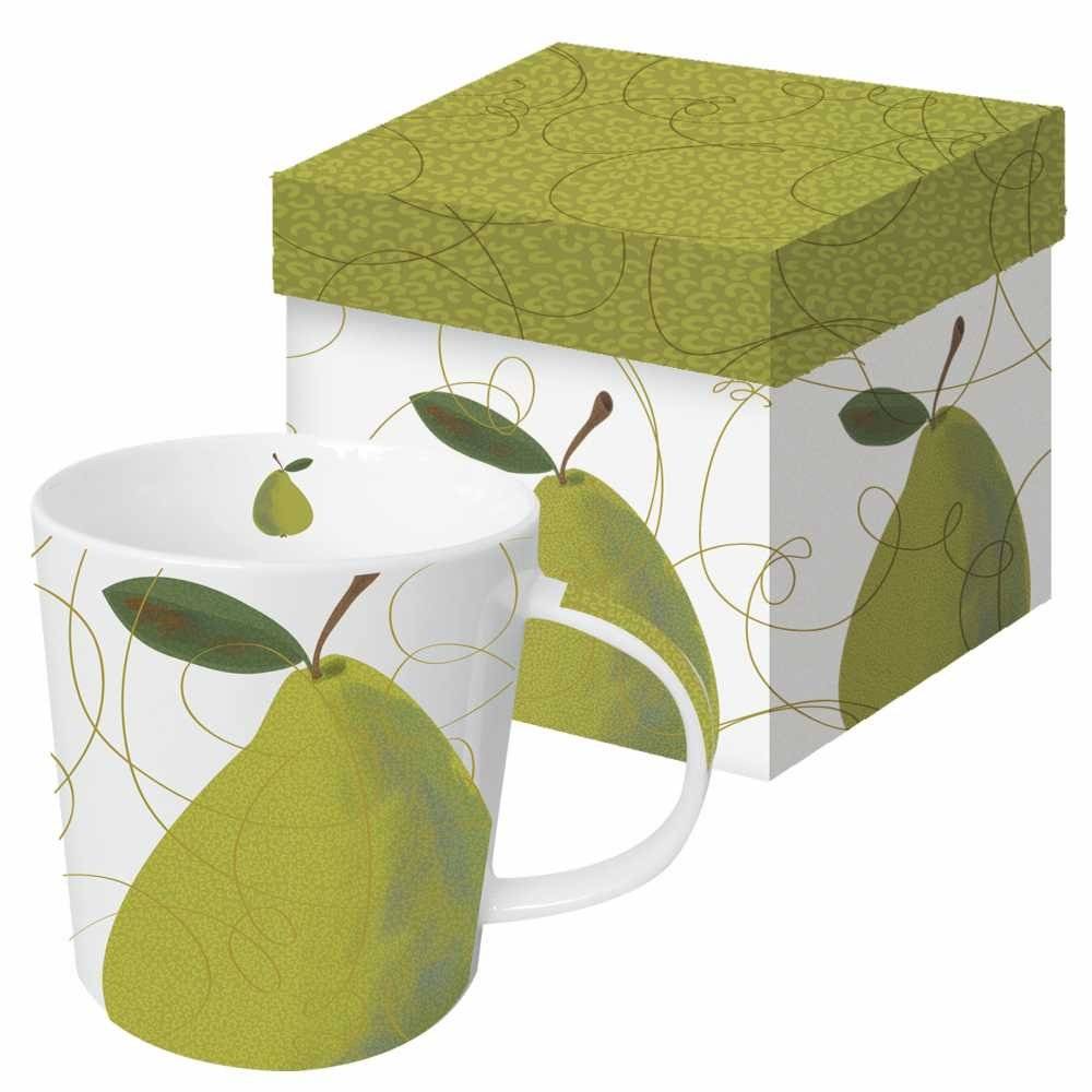 Pear mug - FALL In Love With Autumn: Pre-PEAR Yourself for Yummy Pear Inspiration Ahead!