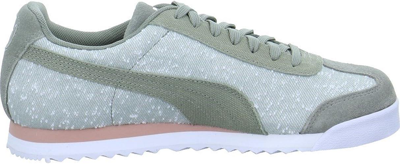 Mode Puma Roma Suede Grün Sneaker Herren Auf Verkauf
