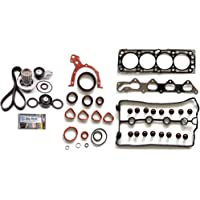 FINDAUTO Automotive Engine Exhaust Manifold Gaskets Set fits Ford E-350 Club Wagon 6.0L 2004-2005