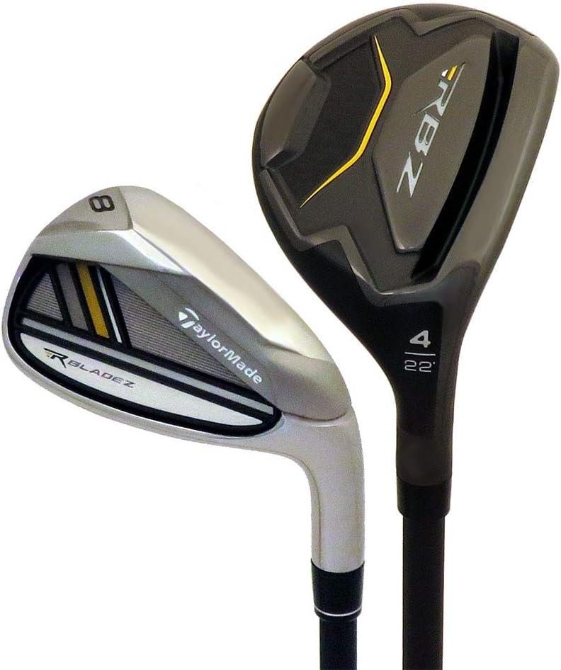 TaylorMade New Golf RocketBladez RBZ Black 4-PW Hybrid Irons Graphite Regular