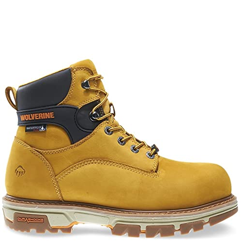 3e57480fa9d Wolverine Men's Nation 6 Inch Insulated Waterproof Comp Toe Work Shoe