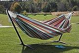 Eclipse Collection Vivere's Combo - Sunbrella® Confetti Hammock with Stand (9ft)
