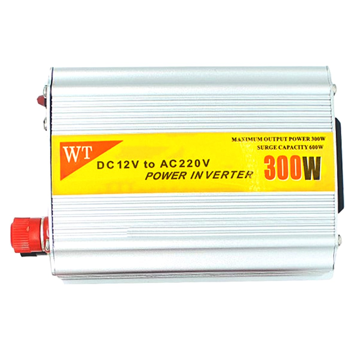 IDS Home 300W 12V DC to 220V AC Power Inverter with Connection Kits Aluminum Alloy?