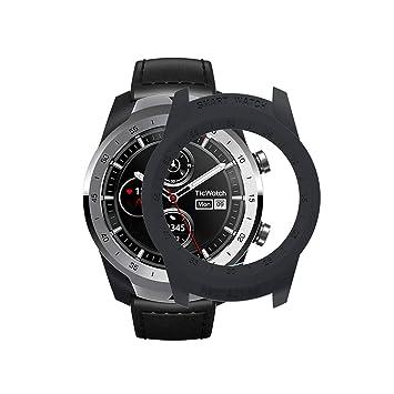 Compatible TicWatch Pro Reloj Elegante Case Cover SIKAI PC Moda Slim Colorido Marco Caso Cubierta Delgado Funda Protectora de Carcasa Proteger para ...
