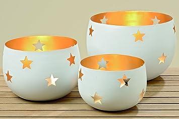 Boltze Gruppe Gmbh Dekoration Schale Kerzenhalter Metall Windlicht