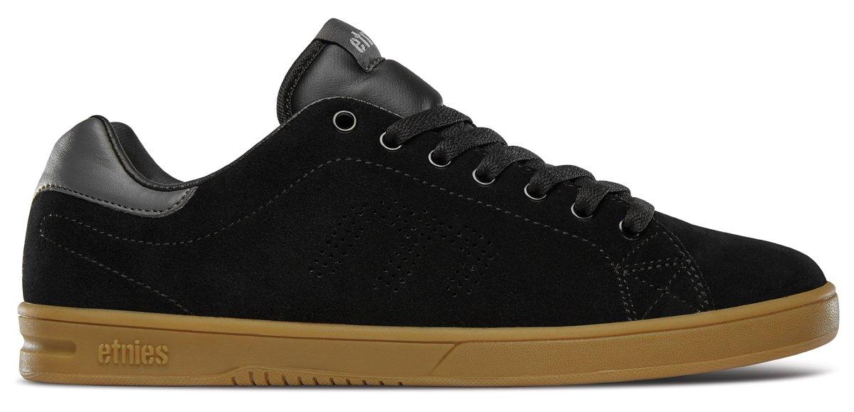 Etnies Mens Men's Callicut LS Skate Shoe 10.5 D(M) US|Black/Grey/Gum