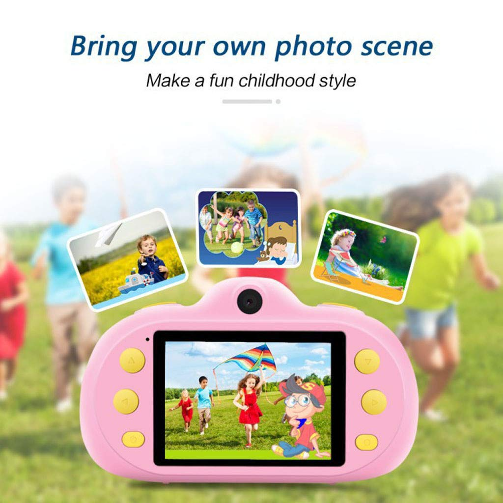 Poniu Kids Camera 8.0mp Rechargeable Children Shockproof Digital Photography Camcorders New Gifts by Poniu (Image #6)