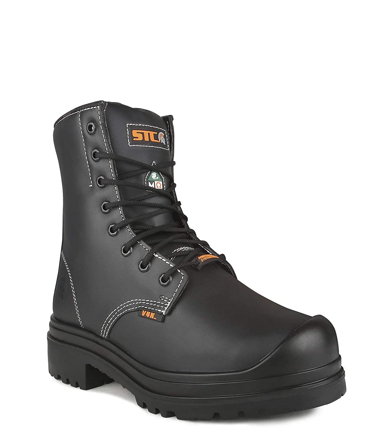 STC 22002-11 Work Boots, 8 in, Steel