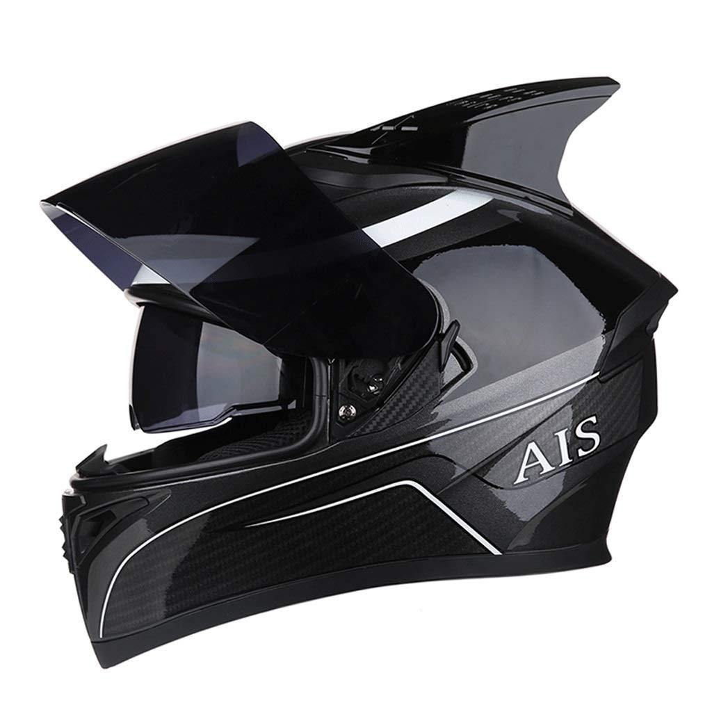 【超お買い得!】 ダブルレンズヘルメットモトクロスフルフェイスヘルメット取り外し可能な裏地付きマウンテンバイク乗馬用ヘルメット Medium (色 : J : j, サイズ さいず (色 : XXXL) B07PH6552Z Medium|C C Medium, WAGAKU:09e78c34 --- a0267596.xsph.ru