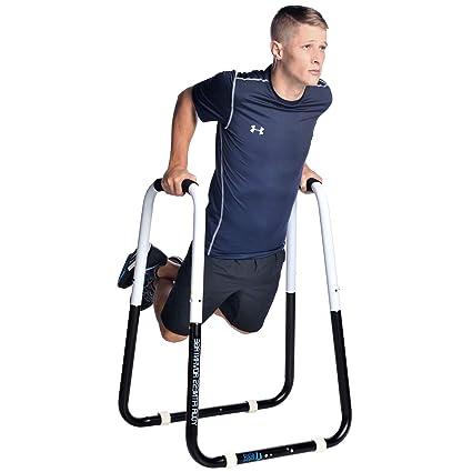 Amazoncom Ultimate Body Press Dip Bar Fitness Station Dip