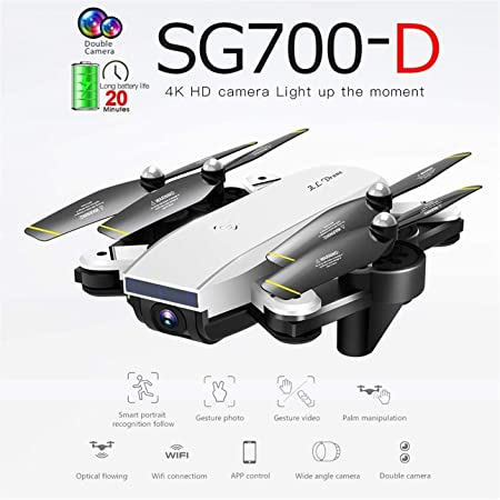 Drone Pudincoco SG700-D Plegable con cámara 4K HD Full Smart ...
