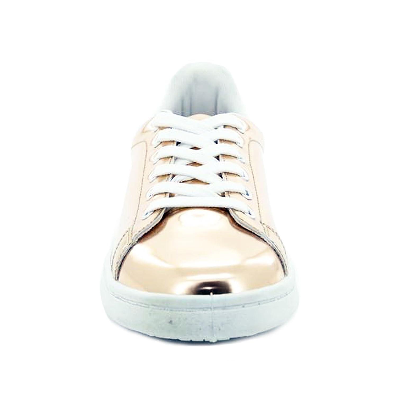 Scarpe donna sneakers ginniche lucide specchio casual nuove Queen Helena X17-31 rDHKy08m