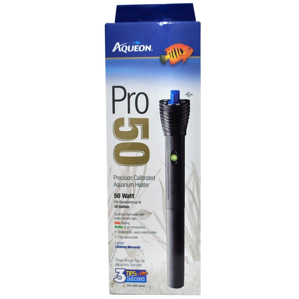 250 watt Aqueon Shatterproof  Pro Heater 50 watt