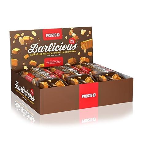 Prozis Barlicious Protein Bar, Chocolate Blanco - 6 Unidades